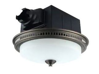 110 CFM Ceiling Exhaust Bathroom Fan with lED light and Nightlight  Retail 124 49