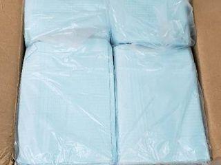 MonMed large Dental Bibs Disposable 500 Pack in Blue   Disposable Patient Bibs Dental Napkins  Dental Paper Bibs  Blue