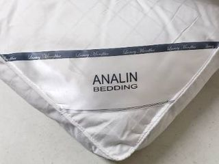 ANAlIN Extra Thick Mattress Topper  Plush 3 Inch Down Alternative Fiber Soft and Breathable 400TC Cotton Percale Cover   Queen Size