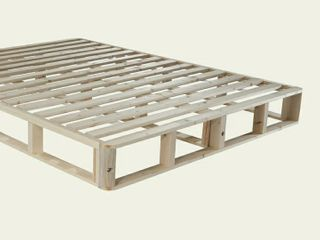 Natureal Sleep KD Foundation   Easy to Assemble Box Spring   100  Real Wood  Full Size