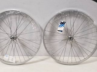 Bicycle Wheel Rear 26x1 75 Alloy B O 5 7s 36SS  Set of 2