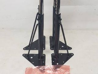 21in x 7in Replacement legs For Flash Furniture Mobile Rectangular Table See Details  lot Of 4