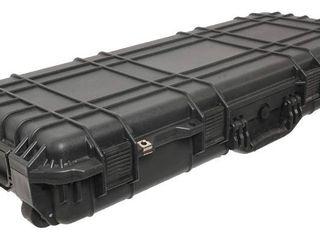 Case Club Hard Waterproof Rifle Case with Polyethylene  Convoluted    Empty Interior