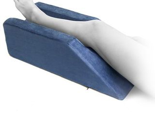 Milliard Foam leg Elevator Cushion with Washable Cover  A Support and Elevation Pillow for Surgery  Injury  or Rest