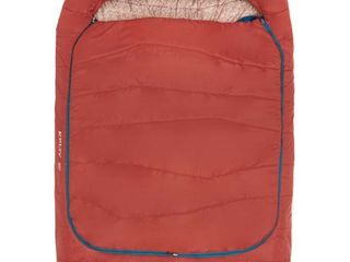 Kelty Tru Comfort Doublewide 20 Degree Sleeping Bag a Two Person Synthetic Camping Sleeping Bag for Couples   Family Camping a Stuff Sack Included