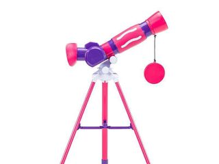 Educational Insights GeoSafari Jr  My First Telescope   Pink
