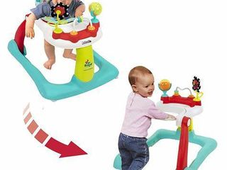 Kolcraft Tiny Steps 2 in 1 Infant   Baby Activity Walker   Seated or Walk Behind  Jubliee