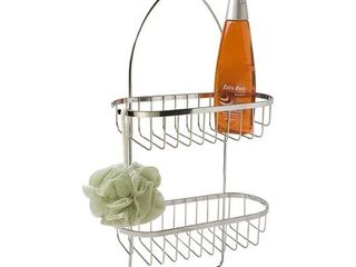 Home Basics Shower Caddy  Chrome