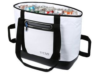 Arctic Zone 30 Can Titan Deep Freeze Insulated Cooler Sport Tote Bag  White
