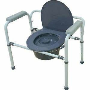 Medokare Bedside Commode Chair   Heavy duty Steel Commode