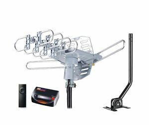 Pingbingding Pbd Wa 2608 Digital Amplified Outdoor Hd Tv Antenna With Mountin