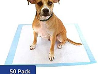 Puppy Training Pads For large Breeds By Best Pet Pack Of 50  Blue  x large