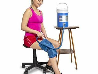 Cryo Cuff Knee Cooler Cold Therapy Ice Machine for Knee System   Cryotherapy Cuff Machine Combines Compression with Cold Therapy   Essential for After Knee Surgery  Trauma  Rehab   Sports Injuries