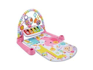 Fisher price Deluxe Kick   Play Piano Gym  Pink Deluxe Knp Piano Gym Pink  ffp