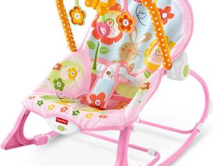 Fisher price infant to toddler Pink rocker