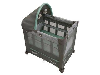 Graco Travel lite Crib   Travel Crib Converts from Bassinet to Playard  Manor