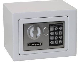0 17 Cu  Ft  Steel Security Safe   White