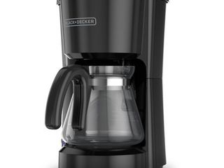 BlACK DECKER CM0700B 5 Cup Coffee Maker  Compact Design