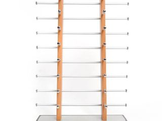 Sunglass Display  Amzdeal Wooden look laminate Sunglasses Display Rack  Eyewear Display up to 16 Glasses