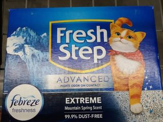 Fresh Step Febreze Freshness Cat litter 2 Pack