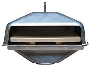 Green Mountain Grills Wood Fired Pizza Oven for Davy Crockett Grill  Small  GMG 4108