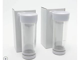 Goodful Set of 2 Press and Go Iced Tea Tumblers