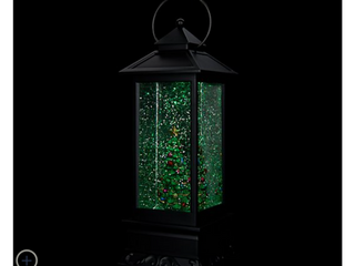 Illuminated Holiday Water lantern with Timer by lori Greiner   Tree