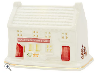 Belleek light Up lED Irish Village   Grocery Store  Retail  54 99