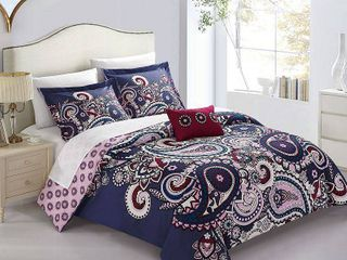 Chic Home lively 4 Pc Queen Duvet Cover Set Bedding