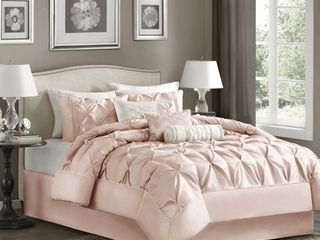 Blush Piedmont Comforter Set  California King  7pc