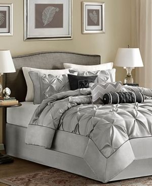 Madison Park Piedmont 7 Piece Tufted Comforter Set