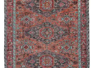 Piraj Feizy Rust Aqua 6452f Area Rug 2 X 3 80  Wool 20  Cotton Hand Knot