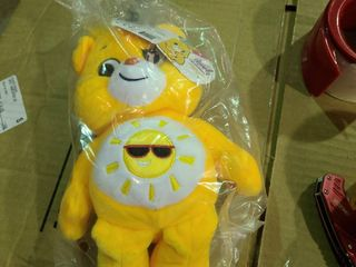 Set of 12   Care Bears Sunshine Bear Good Vibes 8  Soft Classic Beanie Plush 2020
