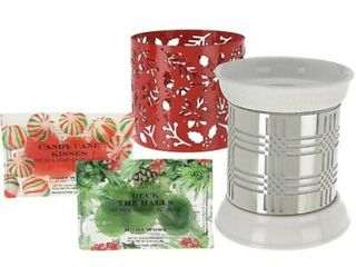 HomeWorx by Harry Slatkin Fragrance Warmer Holiday W  2 Sleeves 12 Gelables