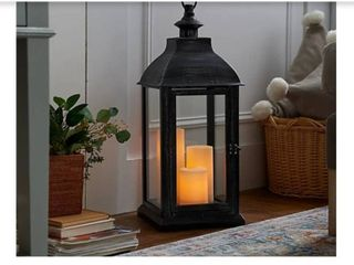 Candle Impressions large 23a Indoor  Outdoor lantern with 3 Candles
