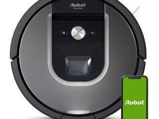 iRobot   Roomba 960 Wi Fi Connected Robot Vacuum   Gray