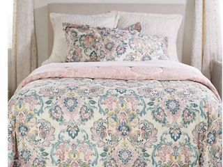 3 Piece King Jacobean Comforter Set by Valerie