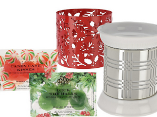 HomeWorx by Harry Slatkin FragranceWarmer with 2 Sleeves and 12 Gelables