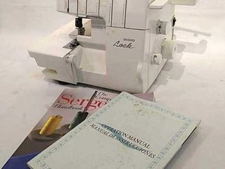 Brother 3034D lock Serger w  Manual