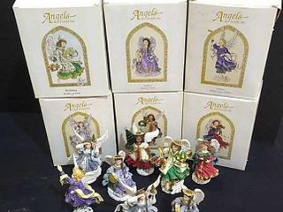 8   Angels Beside Me  Figurines