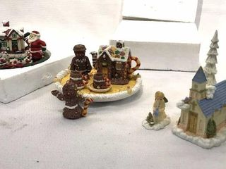 Resin Heavenly Village  Resin Miniature Tea Sets