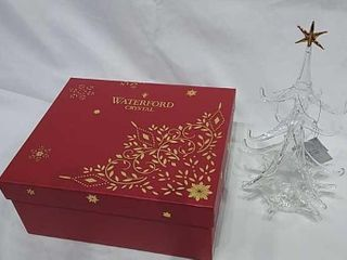 Waterford Crystal Nativity Set  like New