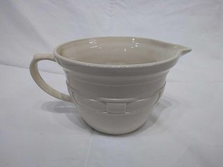 longaberger White Ceramic Pitcher