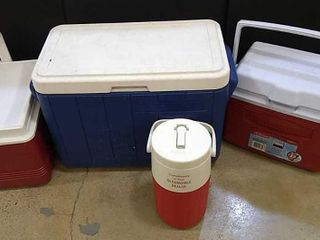4  Insulated Coolers