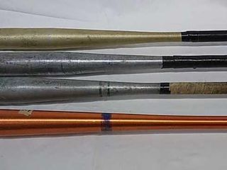4  Aluminum Softball Bats