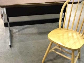 Utility Table and Chair   48  x 30