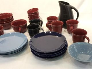 Dinnerware Plates  Mugs  Bowls  Pitcher