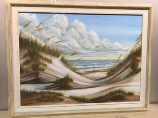 Ocean Sand Dunes Oil on Canvas  28 x 22
