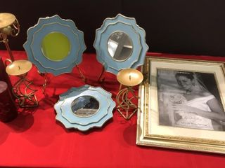 Candle Holders  Decorative Mirrors  Picture Frame
