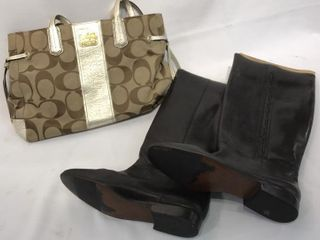 Coach ladiesIJ Handbag   Catleia leather Boots
